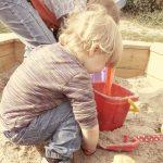 弟夫婦の子供に砂アレルギーが判明。我が家の庭の砂場を貸すことにしたのだが・・・